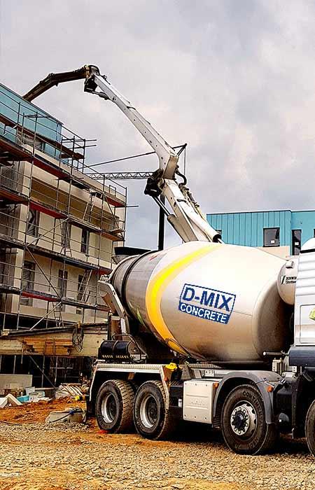 Concrete Walsall Ready Mixed Concrete Pump Hire