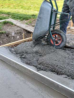 Concrete Walsall Shed Base Footing